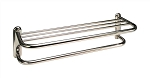 TOWEL SHELF, 24 INCH, CHROME